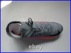 Nike Mercurial Superfly 7 Elite FG Size 8.5 Grey/Laser Crimson/Black AQ4174 906