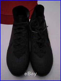Nike Mercurial Superfly 7 Elite FG Soccer Cleats Black AQ4174-001 Mens Sz 10