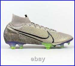 Nike Mercurial Superfly 7 Elite FG Soccer Cleats Desert AQ4174-005 Mens size 7.5