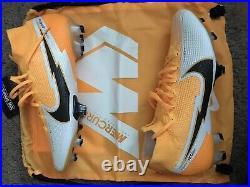Nike Mercurial Superfly 7 Elite FG Soccer Cleats Laser Orange Sz 9.5