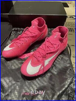 Nike Mercurial Superfly 7 Elite FG Soccer Cleats, Size 8 Mbappe