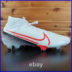 Nike Mercurial Superfly 7 Elite FG Soccer Football Size 11 White AQ4174-160