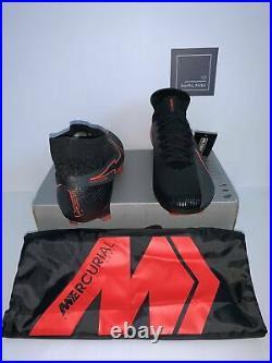 Nike Mercurial Superfly 7 Elite Fg Football Boots -black Size Uk 9 -aq4174-060