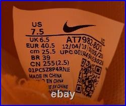 Nike Mercurial Superfly 7 Elite IC Men's Size 8 Indoor Soccer Orange AT7982-801