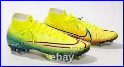 Nike Mercurial Superfly 7 Elite MDS FG BQ5469 703 Sz 10 Lemon Venom Black W-BOX