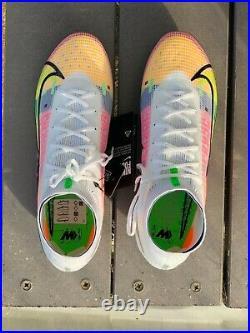 Nike Mercurial Superfly 8 Elite FG CV0958-105 UNRELEASED Dragonfly size 9.5
