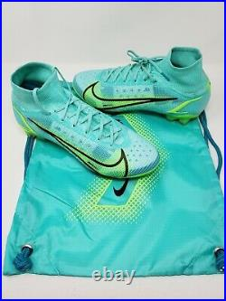Nike Mercurial Superfly 8 Elite FG Mens Size 8.5 Cleats CV0958-403 Dynamic Lime