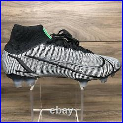 Nike Mercurial Superfly 8 Elite FG NBY Size 6.5 (DD0317 001) Black Soccer Cleats