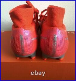 Nike Mercurial Superfly 8 Pro FG Cleats Crimson Indigo CV0961-600 Sz 9 11 12