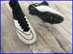 Nike Mercurial Superfly ACC LTHR FG Vapor Carbon Soccer Boots Cleats CR7 US 10
