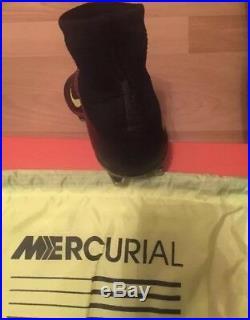 Nike Mercurial Superfly AG PRO BNIB Mens UK 9 Football Boots Black pink red