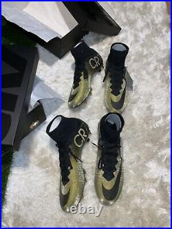Nike Mercurial Superfly CR7 Rare gold 333 pairs in the world. Pair 83 & 84 BNIB