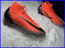 Nike Mercurial Superfly Elite CR7 FG ACC Soccer Cleats Ronaldo AJ3547-600 Sz 9