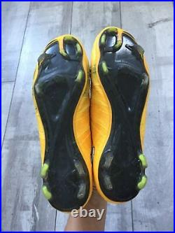 Nike Mercurial Superfly FG Orange Cleats US 11.5 UK 10.5 White Swosh Bosnia
