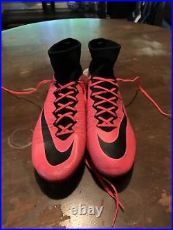 Nike Mercurial Superfly FG Pink/Black Size 10.5 651789-992 (2014)