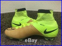Nike Mercurial Superfly FG Soccer Cleats Canvas/Volt 747219-707 Men Sz 8
