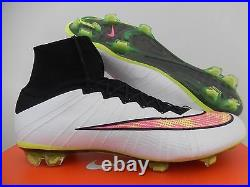 Nike Mercurial Superfly Fg White-volt-black-hyper Pink Sz 12 641858-170