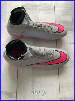 Nike Mercurial Superfly Fg Wolf Grey-pink-black Fotball Cleats Carbon Us10 Uk9