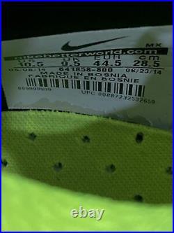 Nike Mercurial Superfly IV FG Laser Orange 641858-800 Mens Cleat US 10.5