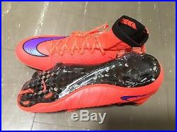 Nike Mercurial Superfly IV FG Size 9.5 Soccer Cleats Used