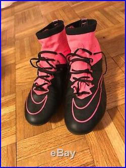 Nike Mercurial Superfly IV Leather AG soccer shoes US8 BNWB 747218-006 vapor 360