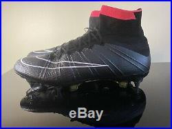 Nike Mercurial Superfly IV SG Black/Pink Size 9 US 8 UK CR7
