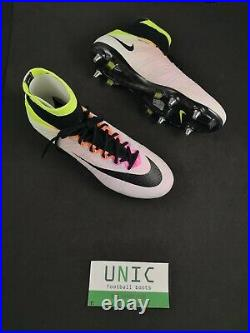 Nike Mercurial Superfly IV SG-PRO Football Boots Shine Through White Volt Pink