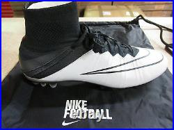 Nike Mercurial Superfly LTHR AG-R Mens Football Boots 747218 001 Soccer Cleats