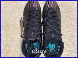Nike Mercurial Superfly VII 7 Elite FG Soccer Shoes, Size 8.5, Kinetic Black