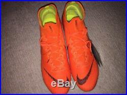 Nike Mercurial Superfly VI 6 Elite AG Soccer Shoes, Size 10, Vapor, Hypervenom