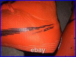 Nike Mercurial Superfly VI 6 Elite AG Soccer Shoes, Size 11.5, Vapor, Hypervenom