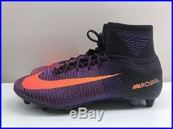 Nike Mercurial Superfly V AG PRO Purple Orange UK 9.5 EUR 44.5 831955 585