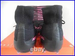 Nike Mercurial Superfly V Ag-pro Black-black-pink Blast Sz 11 831955-006