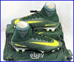 Nike Mercurial Superfly V CR7 FG Ronaldo Volt Soccer Cleat Sz 8.5 NEW 852511 376