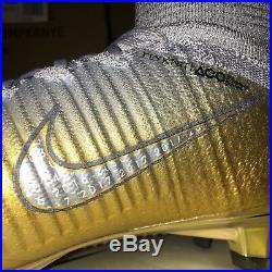 Nike Mercurial Superfly V CR7 QUINTO TRIUNFO AR0998-009 Gold US 8.5, 11