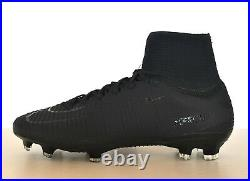 Nike Mercurial Superfly V DF FG 831940-001 Black Soccer Cleats Academy Pack