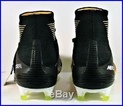 Nike Mercurial Superfly V DF FG ACC Laser Orange & Black Sz 11 NEW 831940 801