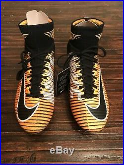Nike Mercurial Superfly V DF FG ACC Mens Soccer Cleats Size 7 831940-801 Orange