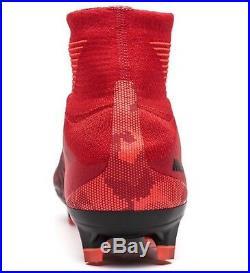 Nike Mercurial Superfly V DF FG Football Boot UK9/EU44/US10 Red 831940-616