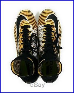 Nike Mercurial Superfly V DF FG Mens Soccer Cleats Laser Orange Size 9