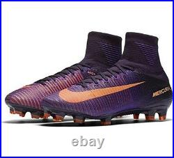 Nike Mercurial Superfly V DF FG UK 9.5 EUR 44.5 Purple Dynasty 831940 585 New