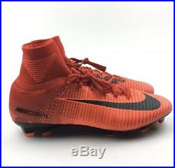 Nike Mercurial Superfly V Df Fg Soccer Cleats Size 9 Red Black 831940-617
