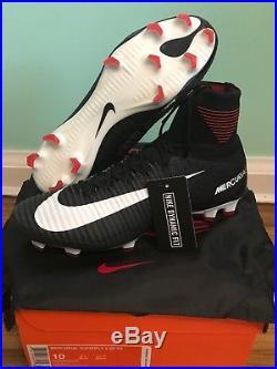 Nike Mercurial Superfly V Df Soccer Cleat Black/white Size Men's 10 831940-002
