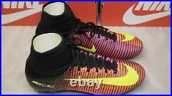 Nike Mercurial Superfly V FG 831940 870 US8, UK7, EUR 41, CM26 Black Volt