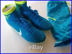 Nike Mercurial Superfly V FG NJR Blue Men's 9.5 Soccer Cleats 921499-400 New