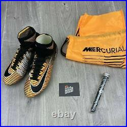 Nike Mercurial Superfly V Sg Pro Uk 6 Eur 39 Us 6.5 Yellow Black- 831956 801