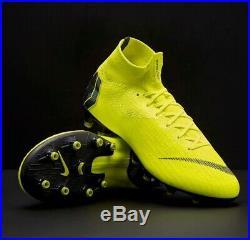 Nike Mercurial Superfly XI Elite Ag-pro Volt/blk Uk 9