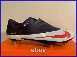 Nike Mercurial Vapor IV Purple Abbys Superfly R9 FG V Size 9,5 43 8,5