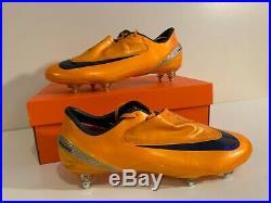 Nike Mercurial Vapor IV SG SUPERFLY Size 11 10 45 Orange