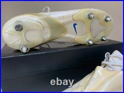 Nike Mercurial Vapor IV SG SUPERFLY Size 11 10 45 White
